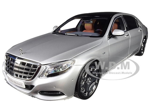 2016_Mercedes_Benz_Maybach_S_Class_Iridium_Silver_118_Diecast_Model_Car_by_Almost_Real
