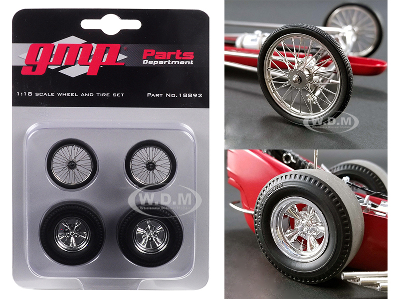 Wheels and Tires Set of 4 pieces from