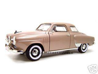 1950_Studebaker_Champion_Golden_Tan_118_Diecast_Model_Car_by_Road_Signature