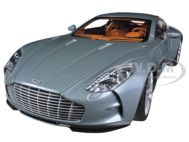 Aston Martin One 77 Villa DEste Blue 1/18 Diecast Model Car by Autoart