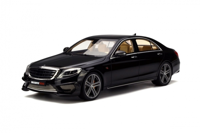 Mercedes Rocket Brabus 900 Black Limited Edition of 1500pc Worldwide 1/18 Model Car by GT Spirit