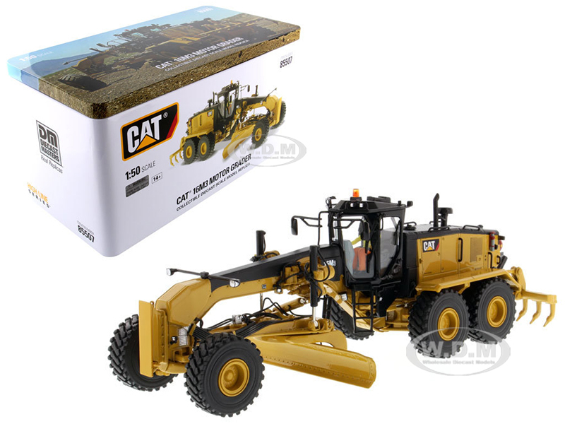 CAT Caterpillar 16M3 Motor Grader with Operator