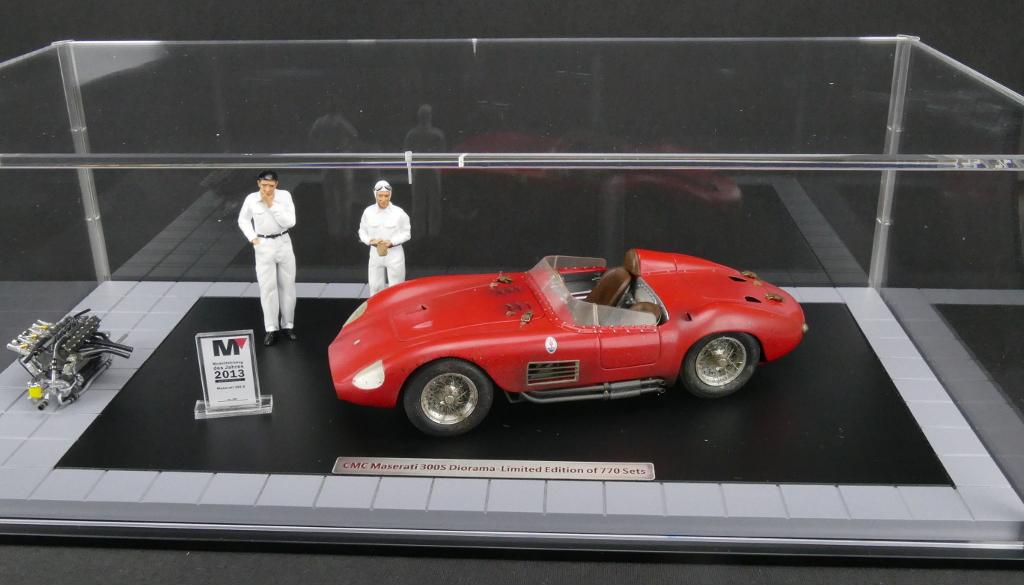 1956 Maserati 300S Dirty Hero with Engine