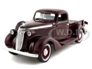 1937_Studebaker_Pickup_Truck_Express_Burgundy_132_Diecast_Model_Car_by_Signature_Models
