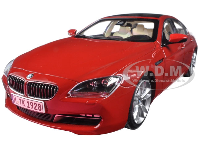 BMW 650i Gran Coupe 6 Series F06 Melbourne Red 1/18 Diecast Model Car by Paragon (97033) photo