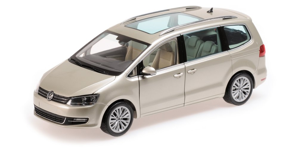 2010 Volkswagen Sharan Silver Limited to 504pc 1/18 Diecast Car Model by Minichamps