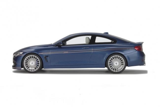SKU-GT090 BMW M4 Alpina B4 Biturbo Blue 1/18 Model Car by GT