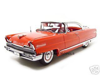 1956-lincoln-premiere-red-platinum118-diecast-car-model-by-sunsta