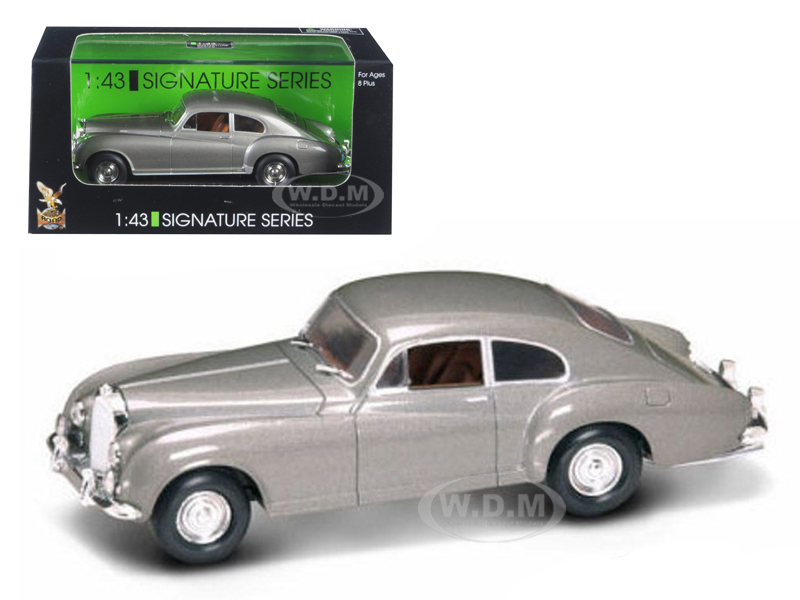 1954 Bentley R Type Gray 1/43 Diecast Model Car by Road Signature 43212gry