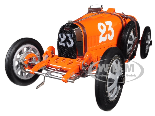 Bugatti T35 #23 National Colour Project Grand Prix Netherlands Limited Edition To 500 Pieces Worldwide 1/18 Diecast Model Car By Cmc