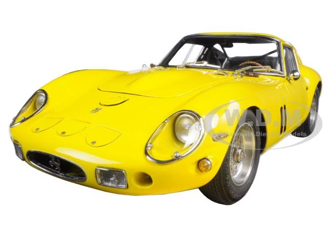 1962 Ferrari 250 Gto Yellow 1/18 Diecast Model Car By Cmc