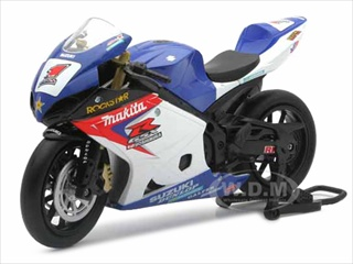Suzuki GSX-R1000 #1 Makita Suzuki Rockstar Bike Motorcycle 1/12 by New Ray NR57027