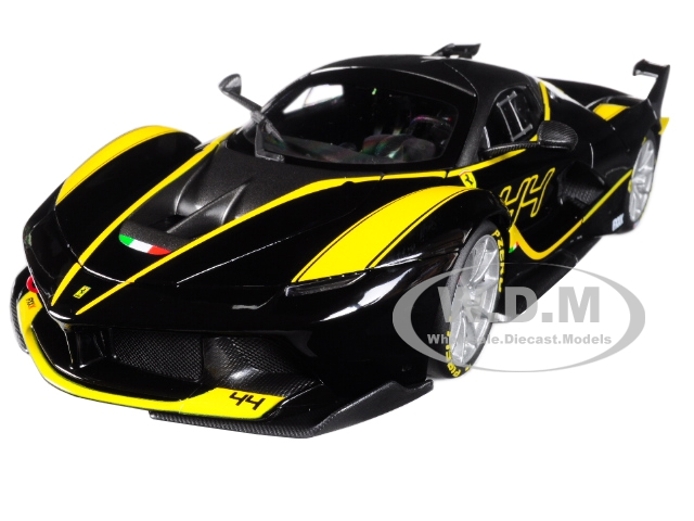 Ferrari FXX-K 44 Black Signature Series 1/18 Diecast Model Car By Bburago