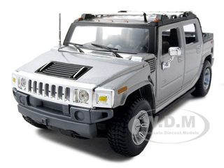 2001 Hummer H2 SUT Concept Silver 1/27 Diecast Model Car by Maisto