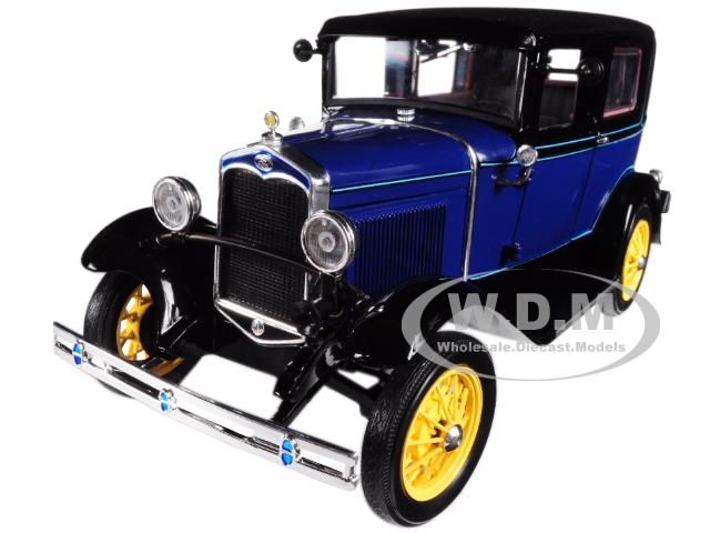 1931 Ford Model A Tudor Lombard Blue