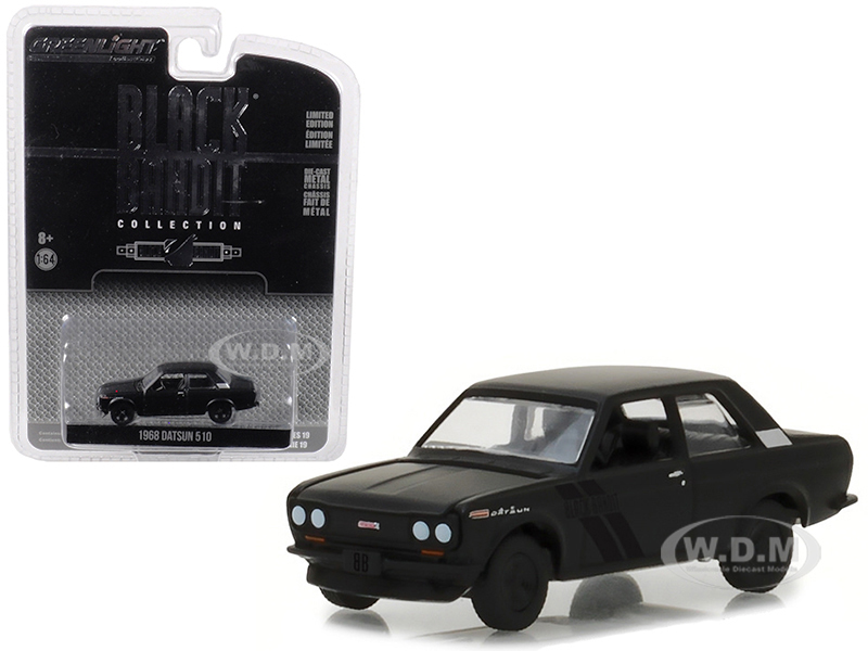 1968_Datsun_510_Black_Bandit_Series_19_164_Diecast_Model_Car_by_Greenlight