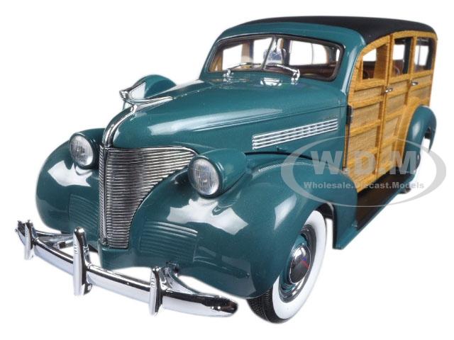 1939 Chevrolet Woody Station Wagon Yosemite Green
