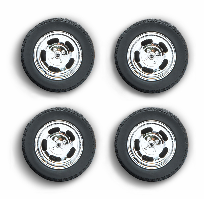 Wheels and Tires Set