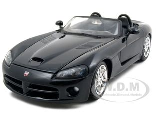 SKU-31232bk 2003 Dodge Viper SRT/10 Black 1/24 Diecast Model