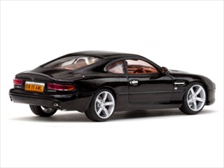 Aston Martin DB7 GT Nero Black Limited Edition 1 of 888 Produced Worldwide 1/43 Diecast Model by Vitesse