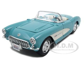 1957 Chevrolet Corvette Turquoise1/24 Diecast Model Car by Maisto