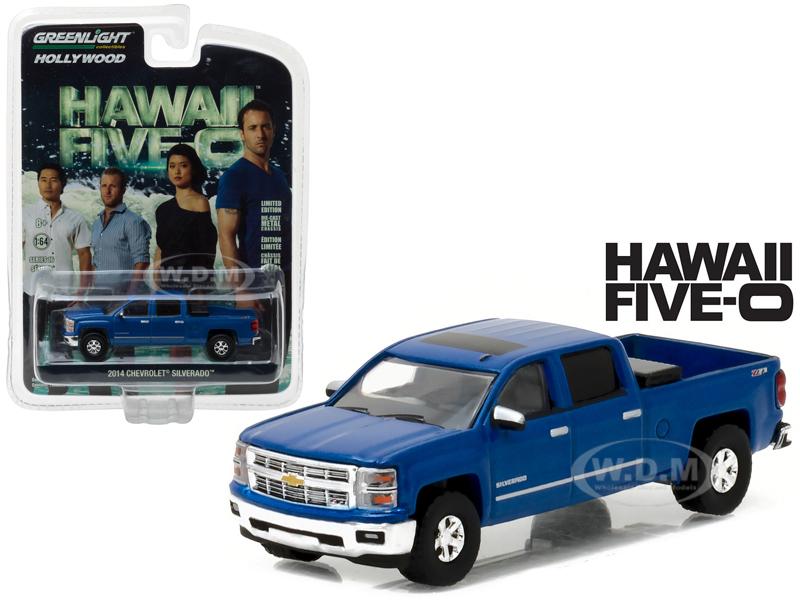 2014 Chevrolet Silverado Pickup Truck Blue