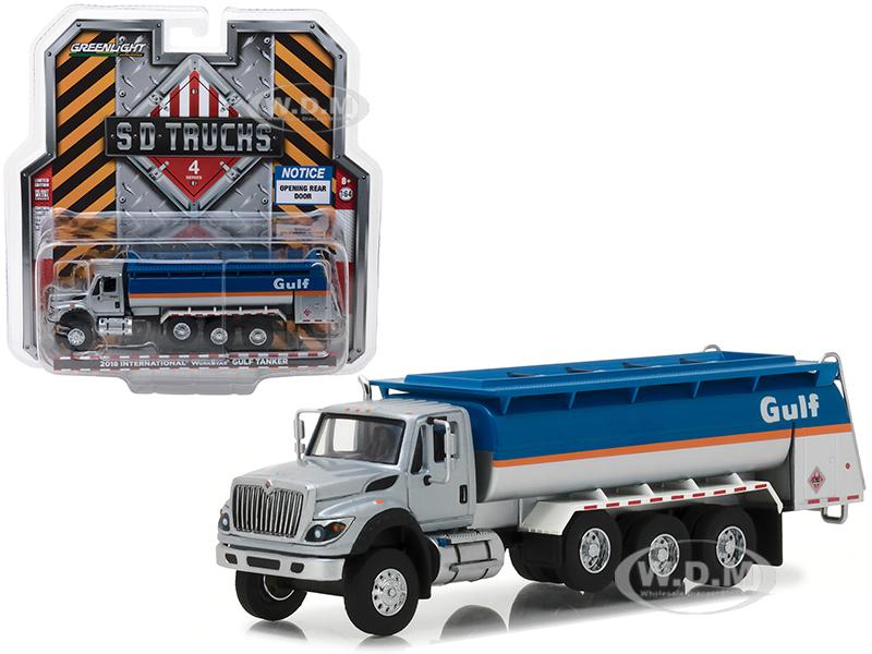 2018_International_WorkStar_Gulf_Oil_Tanker_Truck_SD_Trucks_Series_4_164_Diecast_Model_by_Greenlight