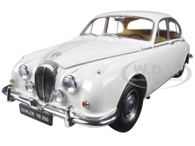 1967 Daimler V8-250 English White Left Hand Drive 1/18 Diecast Model Car by Paragon (98313) photo