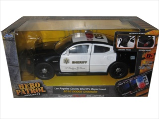 2010 Dodge Charger Los Angeles LA County Sheriff 1/32 Diecast Model Car by Jada