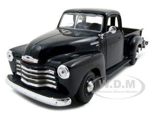 1950 Chevrolet 3100 Pickup Truck Black 1 25 Diecast Model by Maisto