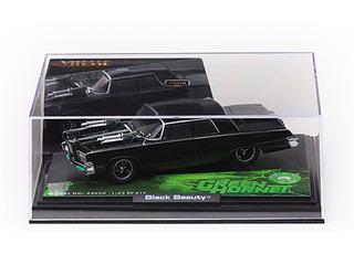 """""""Black Beauty From Movie """"Green Hornet"""" Diecast Model Car 1/43 by Vitesse"""