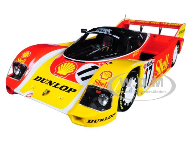 Porsche_962C_17_Derek_Bell_and_HansJoachim_Stuck_3rd_Place_200_Meilen_von_Nurnberg_Supercup_1987_Limited_Edition_to_504_pieces_Worldwide_118_Diecas