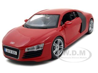 Audi R8 Red 1/24 Diecast Model Car by Maisto