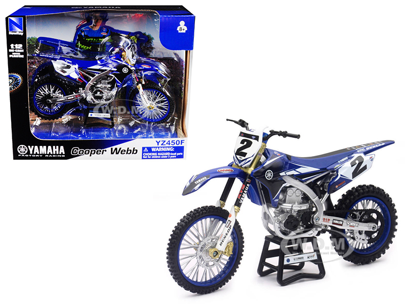 Yamaha_Factory_Racing_YZ450F_2_Cooper_Webb_Motorcycle_Model_112_by_New_Ray