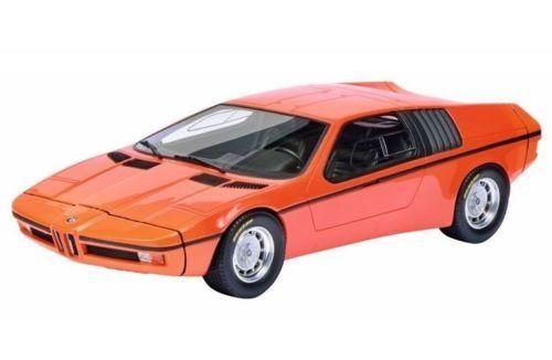 1972_BMW_Turbo_X1_E25_Orange_118_Model_Car_by_Schuco