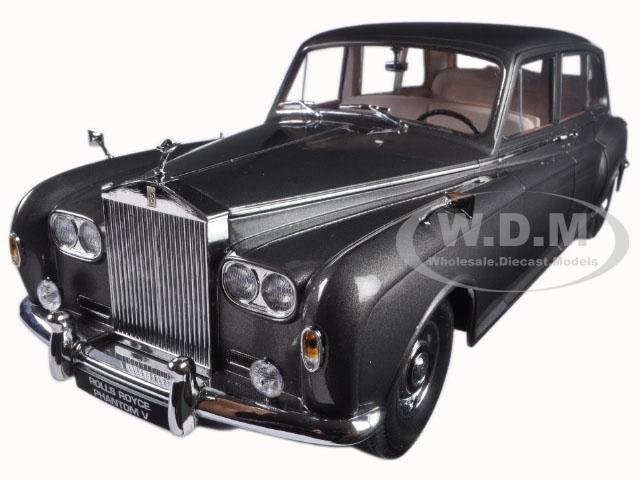 1964 Rolls Royce Phantom V MPW Gunmetal Grey LHD 1/18 Diecast Model Car  by Paragon (98214) photo