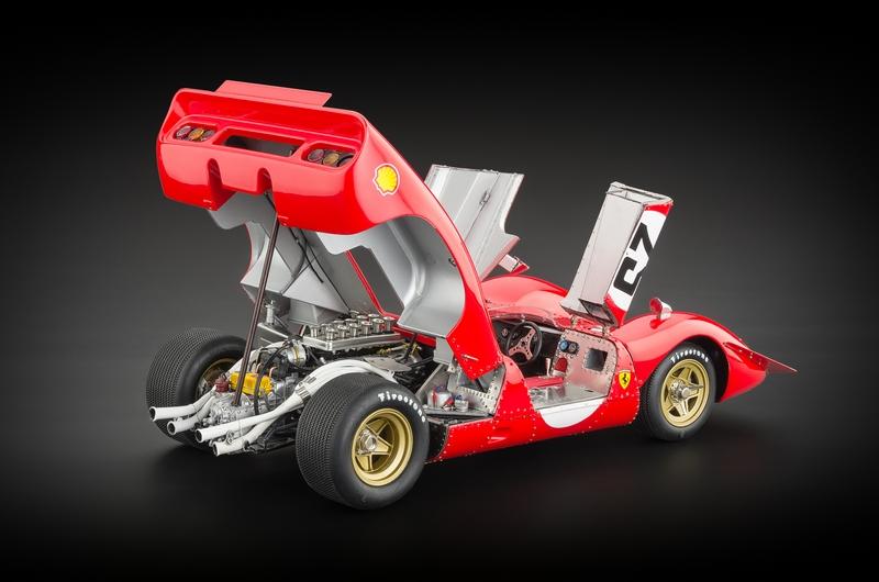 Ferrari 312P Spyder Sebring #25 1969 Mario Andretti Signed Edition