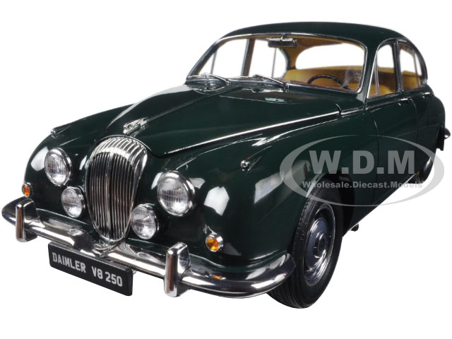 1967 Daimler V8-250 British Racing Green Left Hand Drive 1/18 Diecast Model Car by Paragon (98314) photo