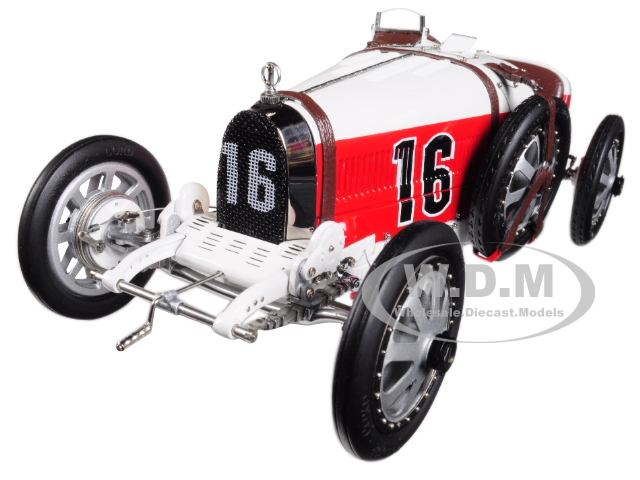 Bugatti T35 #16 National Color Project Grand Prix Monaco Limited Edition To 800 Pieces Worldwide 1/18 Diecast Model Car By Cmc