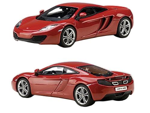Mclaren Mp4-12c Volcano Red 1/43 Diecast Car Model By Autoart