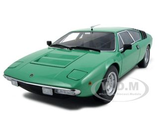 Lamborghini Urraco P250 Green 1/18 Diecast Model Car by Kyosho