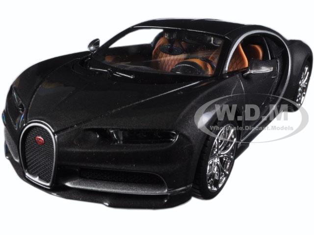Bugatti Chiron Grey 1/24 Diecast Model Car by Maisto