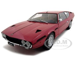 Lamborghini Espada Rosso Granada Red 1/18 Diecast Model Car by Autoart