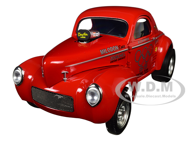 1941 S & S Gasser Limited Edition To 828pcs 1/18 Diecast Model Car By Acme