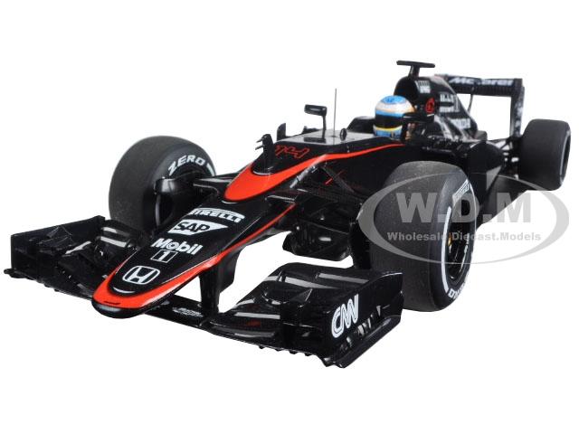 Mclaren Mp4-30 F1 2015 Barcelona/spain Fernando Alonso #14 1/18 Model Car By Autoart