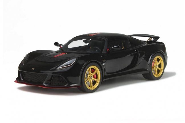Lotus Exige S3 LF1 Black Limited Edition to 999pcs 1/18 Model Car by GT Spirit