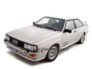 1988 Audi Quattro LWB Diecast Model 1/18 Silver Die Cast Car by Autoart