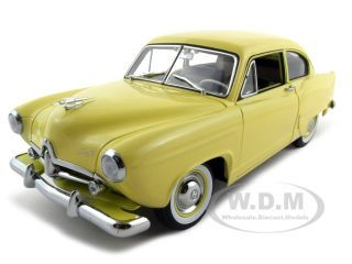 1951-kaiser-henry-j-yellow-platinum-edition-118-diecast-model-car-by-sunsta