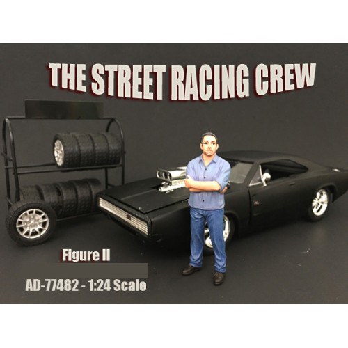 The Street Racing Crew Figure II For 124 Scale Models By American Diorama