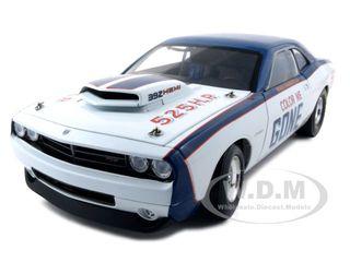 Dodge Challenger Super Stock Color Me Gone 1 of 3000 Made 1/18 Diecast Model Car